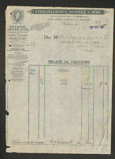 "TOULOUSE (31) OXYGENE ACETYLENE AZOTE CARBURE de CALCIUM ""DUFFOUR & IGON"" 1928"