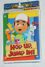 HANDY MANNY    8- INVITATIONS  WITH  ENVELOPES   PARTY SUPPLIES