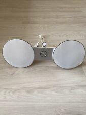 Bang & Olufsen Beosound 8  Speaker - White & Silver