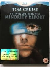 Minority Report Limited Edition Steelbook with Artcards [Blu-ray]
