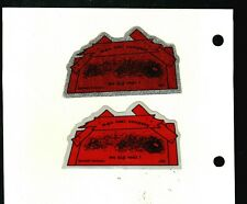 2 Different Nice Kentucky Coal Co.'S Coal Mining Stickers # 10644
