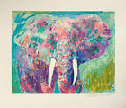 """LeRoy Neiman """"Charging Bull"""" Signed & Numbered #195/450 Serigraph on Paper  MINT"""