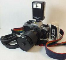 Nikon FG - 20 Vintage Camera  with f = 80mm Macro Lens MS87