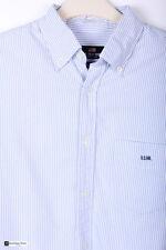 U.S. Polo Assn. Uomo Manica Lunga Regular Camicia Casual Blu Taglia M