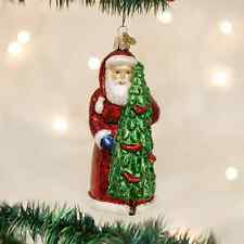 *Santa with Calling Birds* Tree [40196] Old World Christmas Glass Ornament - NEW