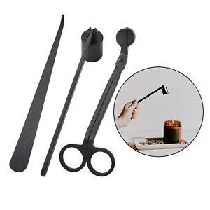 Stainless Steel Wick Snuffer Tool Hook Scissor Trim Lamp Oil Trimmer Dipper