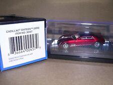"RICKO #38457  2003 Cadillac Sixteen ""Red/Tan"" H.O.Gauge"
