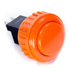 Sanwa Obsn-30Rg 30 mm Push Buttons-Orange-Oem