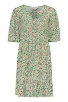 F&F @NEXT Green Ditsy Floral Print Tea Dress Size 12 BNWT RRP £25 Holiday Casual