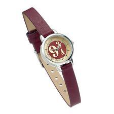 Official Harry Potter Platforma 9 3/4 Wrist Watch Hogwarts Movie Bordeaux Steel
