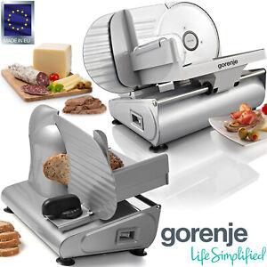 Gorenje Metall Allesschneider Aufschnitt Brot Schneide Maschine Edelstahlmesser