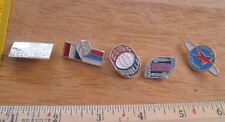 Russian Soviet Space pin lot of 5 from large collection Astronauts rockets 1Z