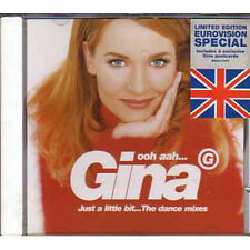 MAXI CD EUROVISION 1996 UK : G. Gina Ooh aah... Just a little bit