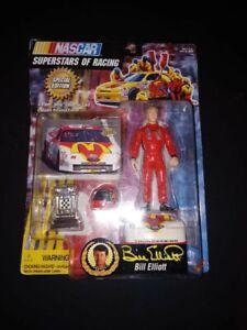 "1997 Toy Biz Nascar Superstars of Racing Bill Elliott 5"" Figure WITH CARD #55030"