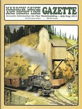 Narrow Gauge Gazette July 2011 Mine Tram House RGS Pharmacy Feed Mill Parlor Car