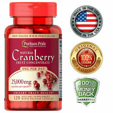 Puritan's Pride One A Day Cranberry - 120 Capsules Urinary Tract Health