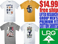 LRG Lifted Research Group Men's Premium Fit 100% Cotton Shirts (Free Shipping)
