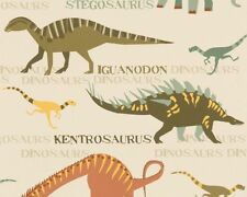 A.S.CREATION 93633-1 DINOSAUR MONSTER BOYS CHILDRENS KIDS ANIMAL WALLPAPER