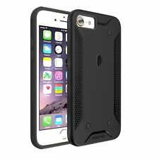 Poetic QuarterBack Stylish PC+TPU Protective Black Case for Apple iPhone 7