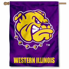 Western Illinois WIU House Flag