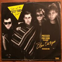 """PETER & TEST TUBE BABIES / THE FITS - BLOWN OUT AGAIN/PEACE & QUIET 12"""" VG/EX"""