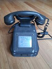 Altes RFT Kurbeltelefon, Telefon, Fernsprecher