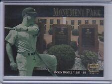 MICKEY MANTLE 2000 Upper Deck Yankees Legends Monument Park #MP3  (B6123)