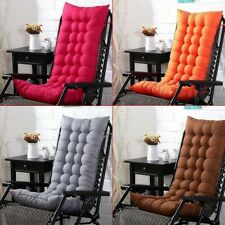 Sun Lounger Garden Furniture Patio Recliner Chairs Relaxer Pad Cushion