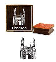 Printtoo Craft Textil Charminar-Muster Aus Holz Stempel Schrott-Anmeldung Stamp