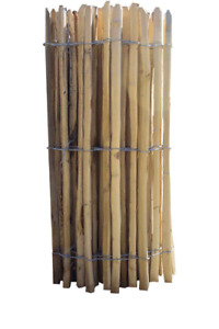 Chestnut Paling - Fencing Material - Galvanised Wire - Free Next Day Delivery!