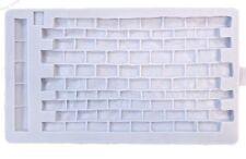 Karen Davies NEW Rustic Brickwork Sugarcraft Mould     FAST DESPATCH