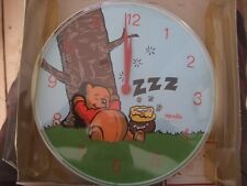 VINTAGE WINNIE THE POOH  Wall Clock BRAND NEW OLD STOCK