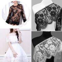 3 yard Cil Dentelle Réduire Floral Ruban Mariage Robe Fabrication Couture Pièce