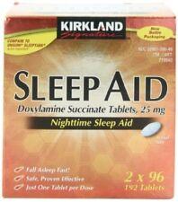 Kirkland Signature Sleep Aid Tablet, 192 Count,  Pre Order