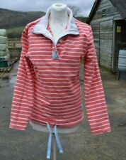 JOULES * COWDRAY * LOBSTRP * CLASSIC FIT STRIPE SWEATSHIRT TOP * UK 10 *