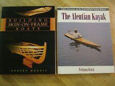 Building Skin-On-Frame Boats/Robert Morris/Aleutian Kayak/Wolfgang Brinck/VG+