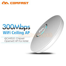 COMFAST 300Mbps Wireless WiFi Indoor Ceiling AP OPEN WRT Access Point 802.11 BGN