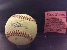 DAN SLANIA SIGNED ARIZONA FALL LEAGUE BASEBALL/ SAN FRANCISCO GIANTS/ DEBUT 2017