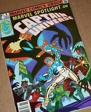 MARVEL Comics SPOTLIGHT #9 1980 1st MR E 2nd Captain Universe app Steve Ditko