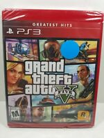 Grand Theft Auto Five (5) (GTA V) PS3 Greatest Hits *BRAND NEW, FACTORY SEALED