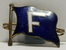 More details for furness line enamel badge brooch edwardian/victorian