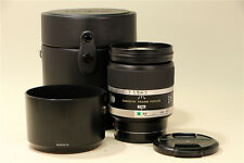 MINT Minolta STF 135mm f/2.8 [T4.5] Lens w/hood SONY A99 alpha AF from JP #310