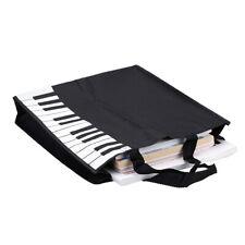 Piano Keys Music Handbag Tote Shopping Bag Gift H2K0