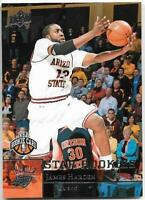 JAMES HARDEN 2009-10 UPPER DECK STAR ARIZONA ROOKIE RC #227 ROCKETS