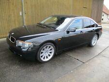 BMW 745 i E 65,Tüv September 2022, 333 Ps, schwarz /schwarz,
