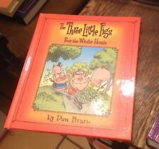 The Three Little Pigs in the White House DAN PIRARO 2004 Humor FREE US SHIPPING