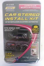 METRA CAR STEREO INSTALL KIT FITS SINGLE DIN NEW Automotive NEW