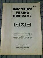 Used 1971 Gmc Truck Wiring Diagrams Ebay