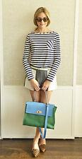 Olivia Palermo x Tibi Cupro Paneled Colorblock Shorts Size 0