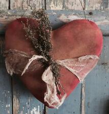 Primitive handmade Valentines Door Hanger
